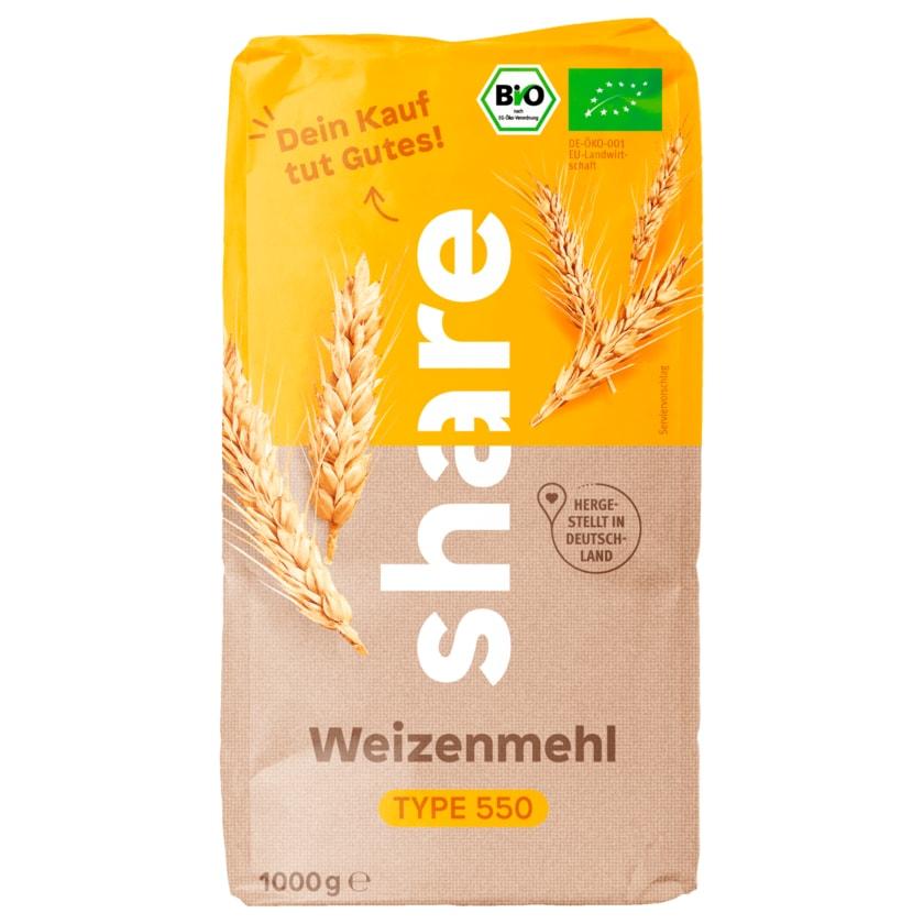 share Weizenmehl Type 550 Bio 1kg