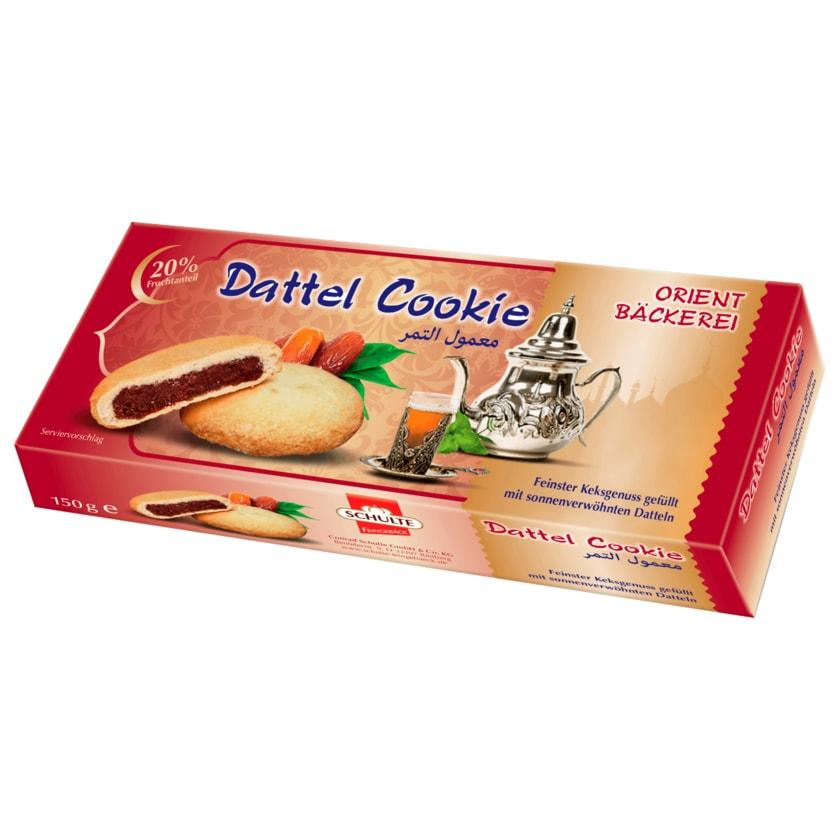 Schulte Feingebäck Dattel Cookies 150g