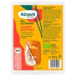 Alnavit Bio Glutenfrei Laugenbrötchen 125g