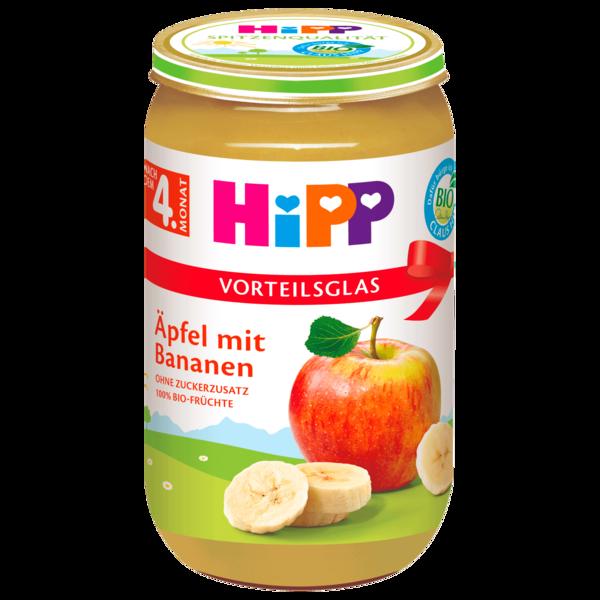 Hipp Bio Äpfel mit Bananen 250g