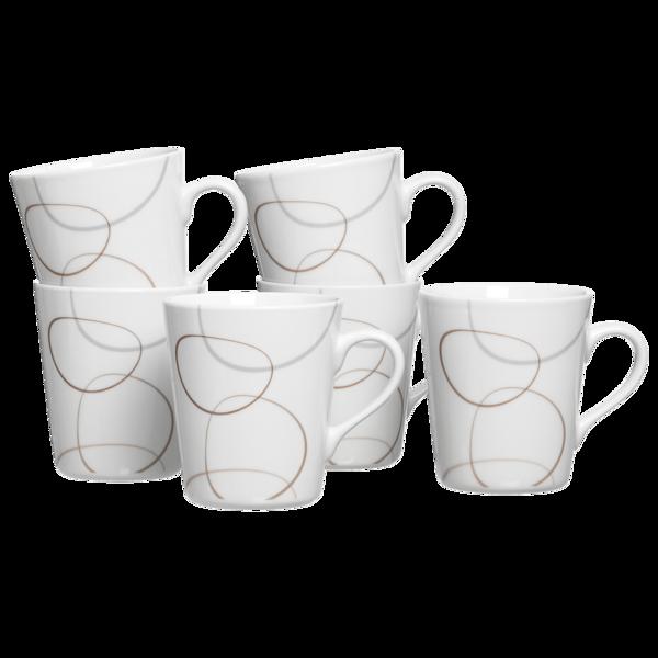 Ritzenhoff & Breker Kaffeebecher-Set Alina 6-teilig