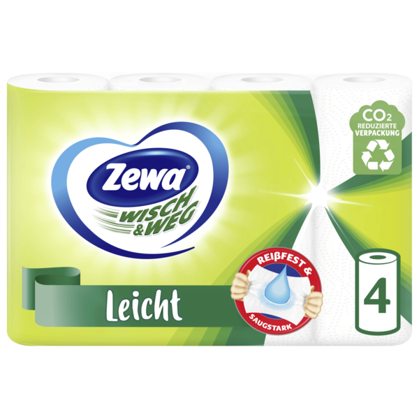 Zewa Wisch&Weg Leicht Haushaltstücher 4x48 Blatt