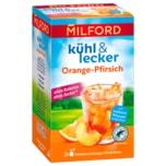 Milford kühl & lecker Früchtetee mit Orangen-Pfirsich-Aroma 50g
