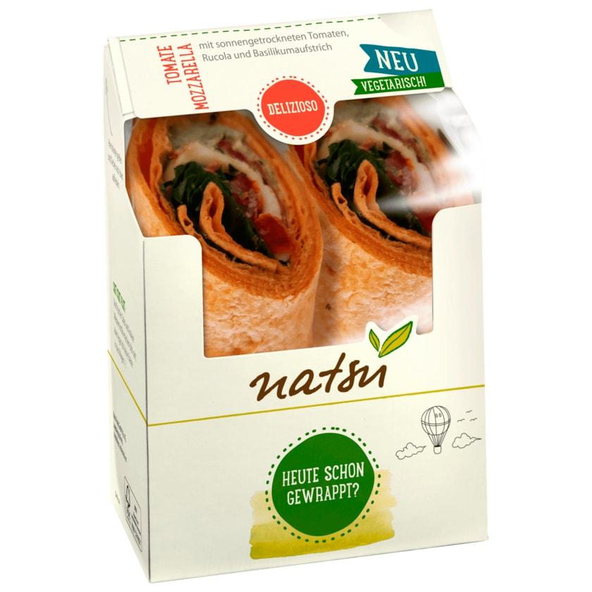 Natsu Wrap Tomate Mozzarella 170g