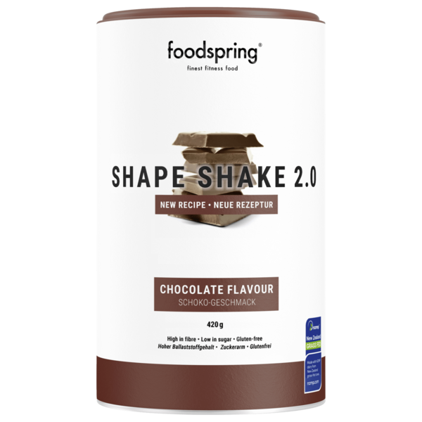 foodspring Shape Shake 2.0 Chocolate 900g