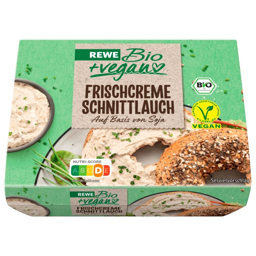 REWE Bio + vegan Frischcreme Schnittlauch 115g