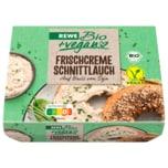 REWE Bio +vegan Frischcreme Schnittlauch 115g