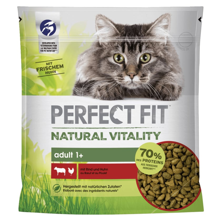 Perfect Fit Natural Vitality Adult 1+ mit Rind und Huhn 650g