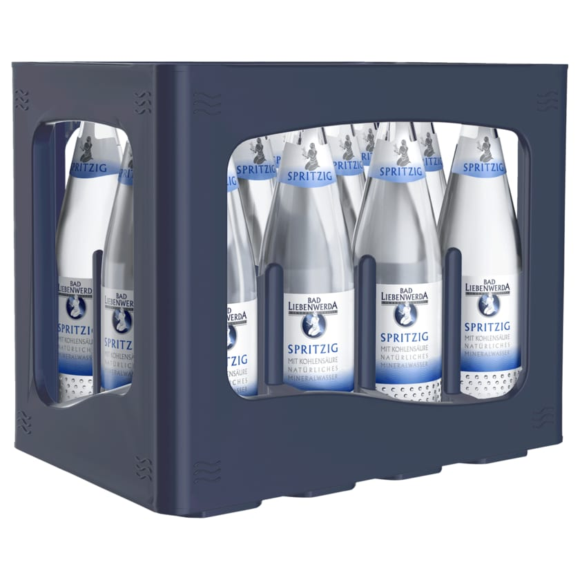 Bad Liebenwerda Mineralwasser spritzig 12x0,75l