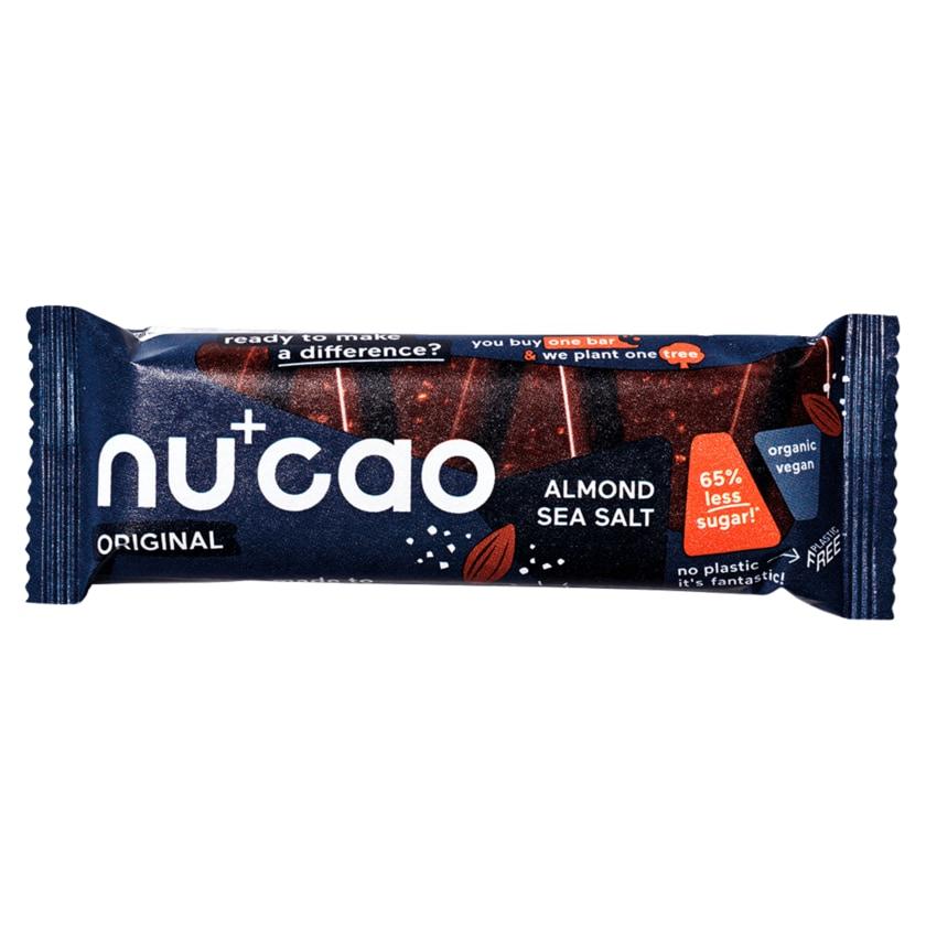 nucao Bio Original Almond Sea Salt Riegel vegan 40g