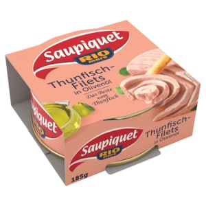 Saupiquet Thunfisch-Filets in Olivenöl 130g
