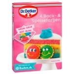 Dr. Oetker 4Back- & Speisefarben 80g