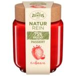 Zentis Natur Rein 75% Frucht Passiert Erdbeere 200g