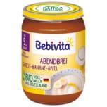Bebivita Abendbrei Griess-Banane-Apfel Bio 190g