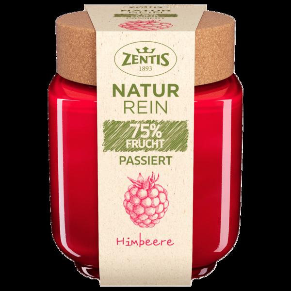 Zentis Natur Rein Fruchtaufstrich passiert 75% Frucht Himbeere 200g