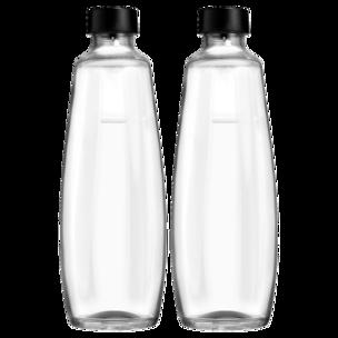 Sodastream Glasflaschen für Duo Sprudler 1l, 2er Pack