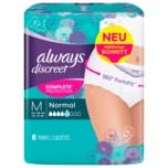 Always Discreet Inkontinenz Einlagen Pants Normal M 8 Stück
