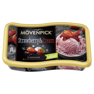 Mövenpick Strawberry & Cream 850ml