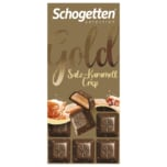 Schogetten Gold Salz-Karamell Crisp 100g