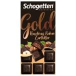 Schogetten Gold Haselnuss Kakao Zartbitter 100g