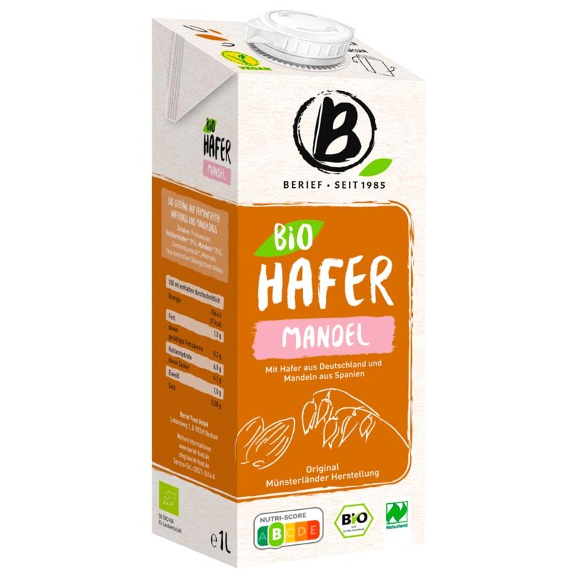 Berief Bio Hafer Mandel 1l