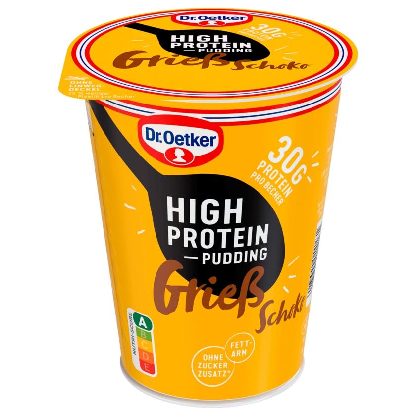 Dr. Oetker High Protein-Pudding Grieß Schoko 400g