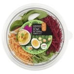 REWE to go Salat Humus-Bowl mit Quinoa & Ei 325g