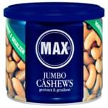 Max Jumbo Cashews geröstet & gesalzen 225g