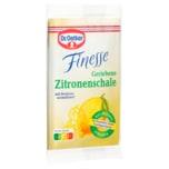 Dr. Oetker Finesse Geriebene Zitronenschale 18g