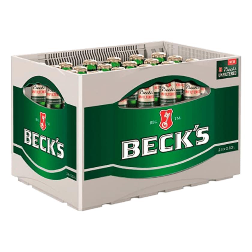 Beck's Unfiltered 24x0,33l