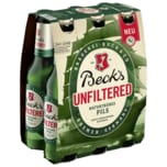 Beck's Unfiltered Pils 6x0,33l