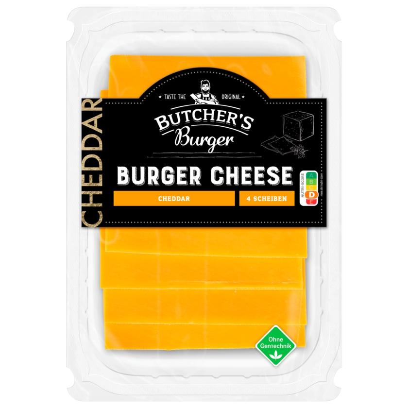 Butcher's Burger Cheddar Burger Cheese 100g