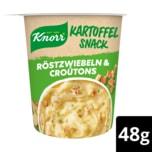 Knorr Kartoffel Snack Röstzwiebel & Croutons 48g