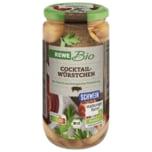 REWE Bio Cocktail-Würstchen 380g