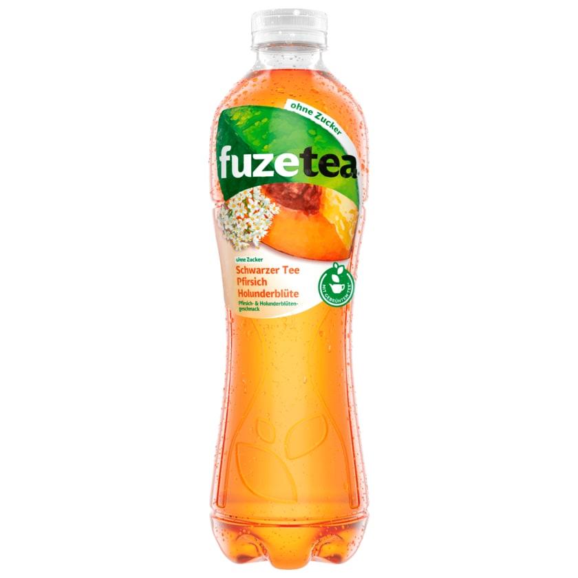 Fuze Tea Pfirsich Holunderblüte ohne Zucker 1l