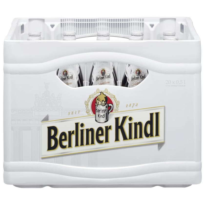 Berliner Kindl Jubiläums Pilsener alkoholfrei 20x0,5l
