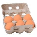 Eifel Eier Huhn&Hahn Bodenhaltung 6 Stück