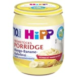 Hipp Bio Frühstücks Porridge Mango-Banane-Haferbrei 160g