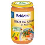Bebivita Gemüse und Hühnchen mit Nudeln 250g