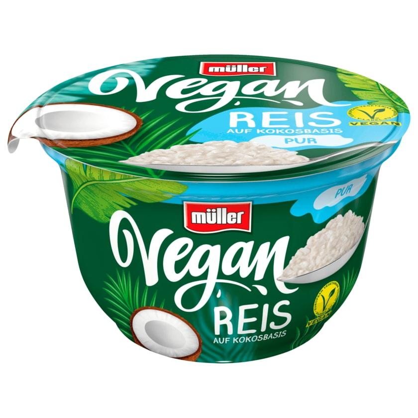 Müller Vegan Reis auf Kokosbasis Pur 180g