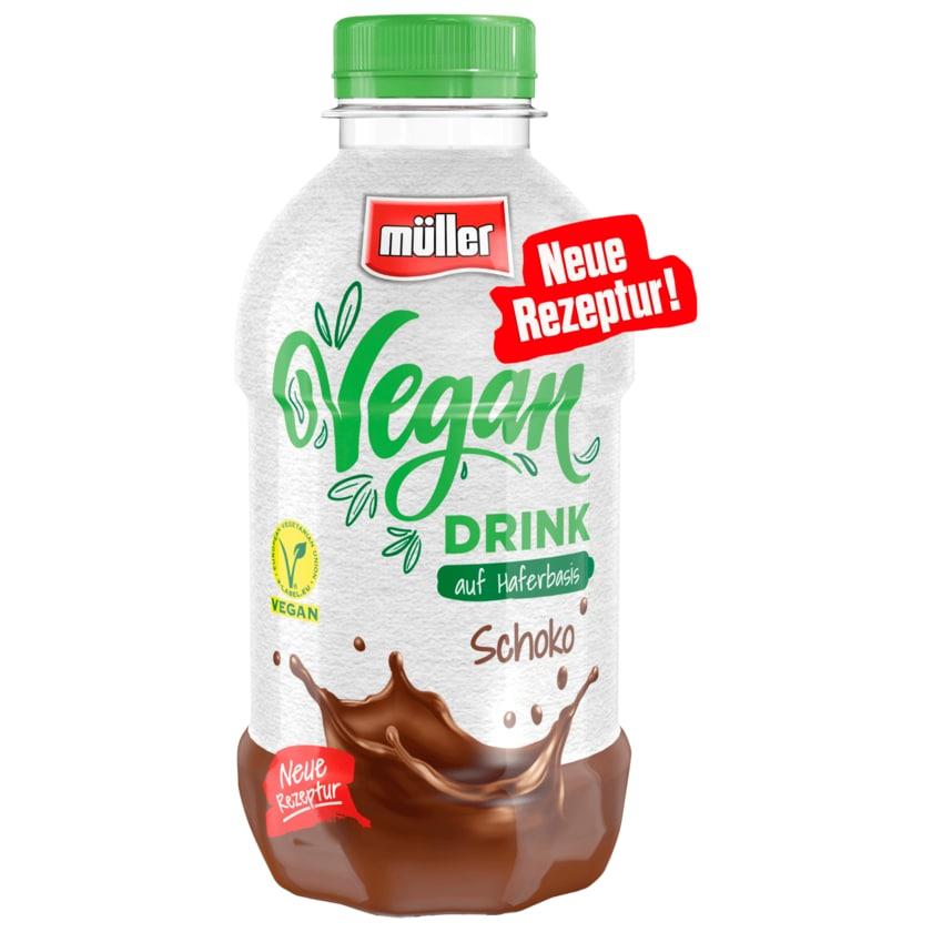 Müller Vegan Drink auf Haferbasis Schoko 400ml