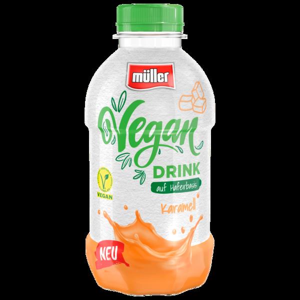 Müller Vegan Drink auf Haferbasis Karamell 400ml