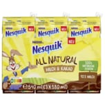 Nestle Nesquik All Natural Milch & Kakao 3x180ml