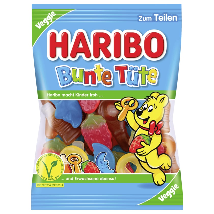 Haribo Fruchtgummi Bunte Tüte 200g