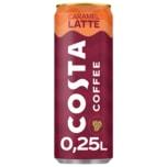 Costa Coffee Kaffeegetränk Caramel Latte 0,25l