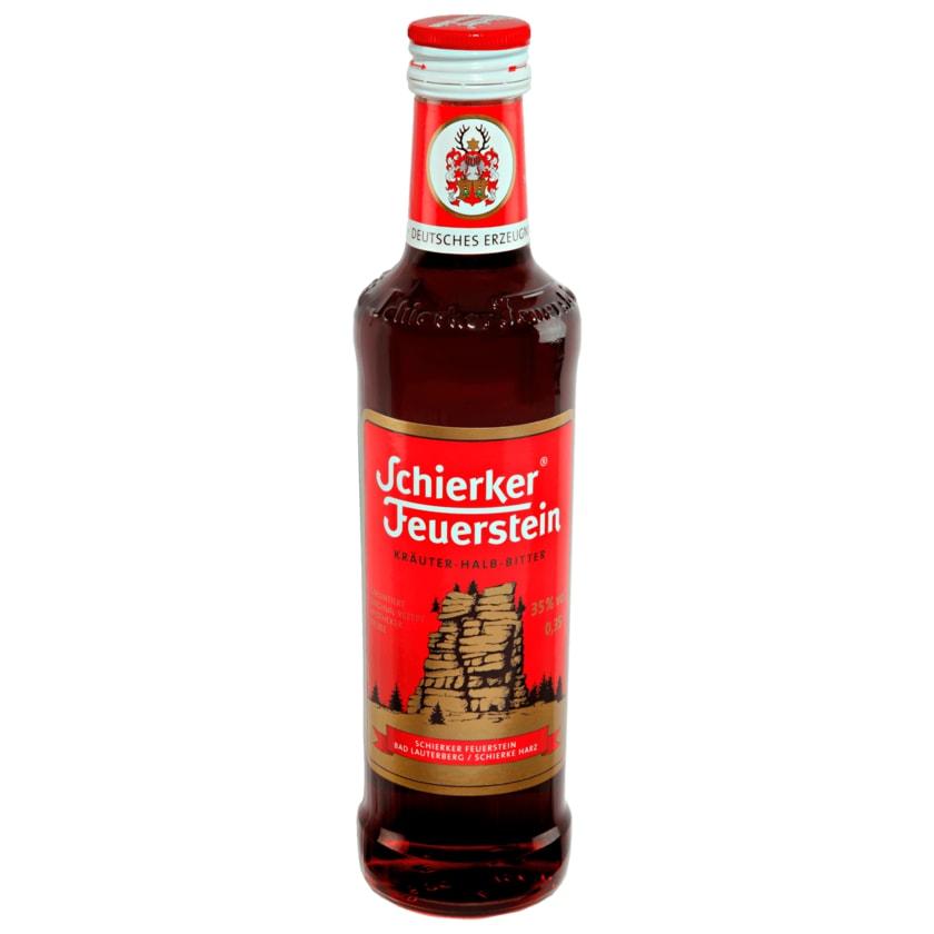 Schierker Feuerstein Kräuter-Halb-Bitter 0,35l