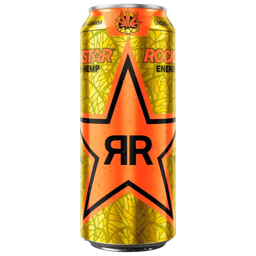 Rockstar Energy Hemp Tropical Burst 0,5l