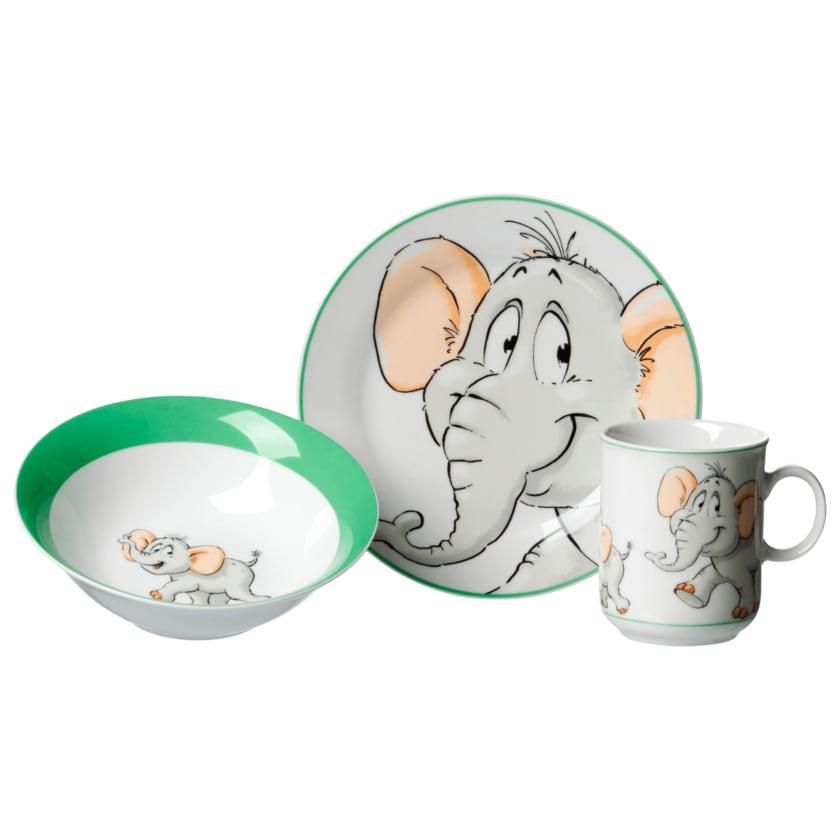 Ritzenhoff & Breker Kinder Geschirrset Elefant Bunt 3-teilig