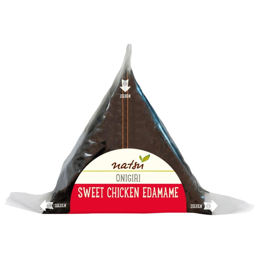 Natsu Onigiri Sweet Chicken Edamame 100g