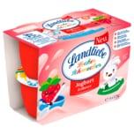 Landliebe Lecker Schmecker Joghurt Erdbeere 4x125g